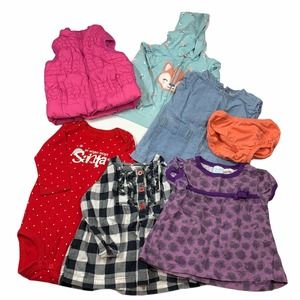 Baby Girl 12m Lot Clothing Carters